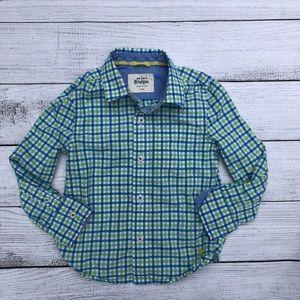 Mini Boden Button Down Shirt
